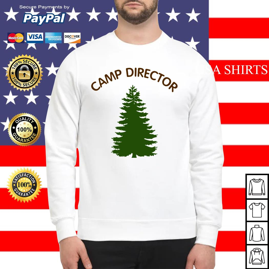 Camp director tree Sweater