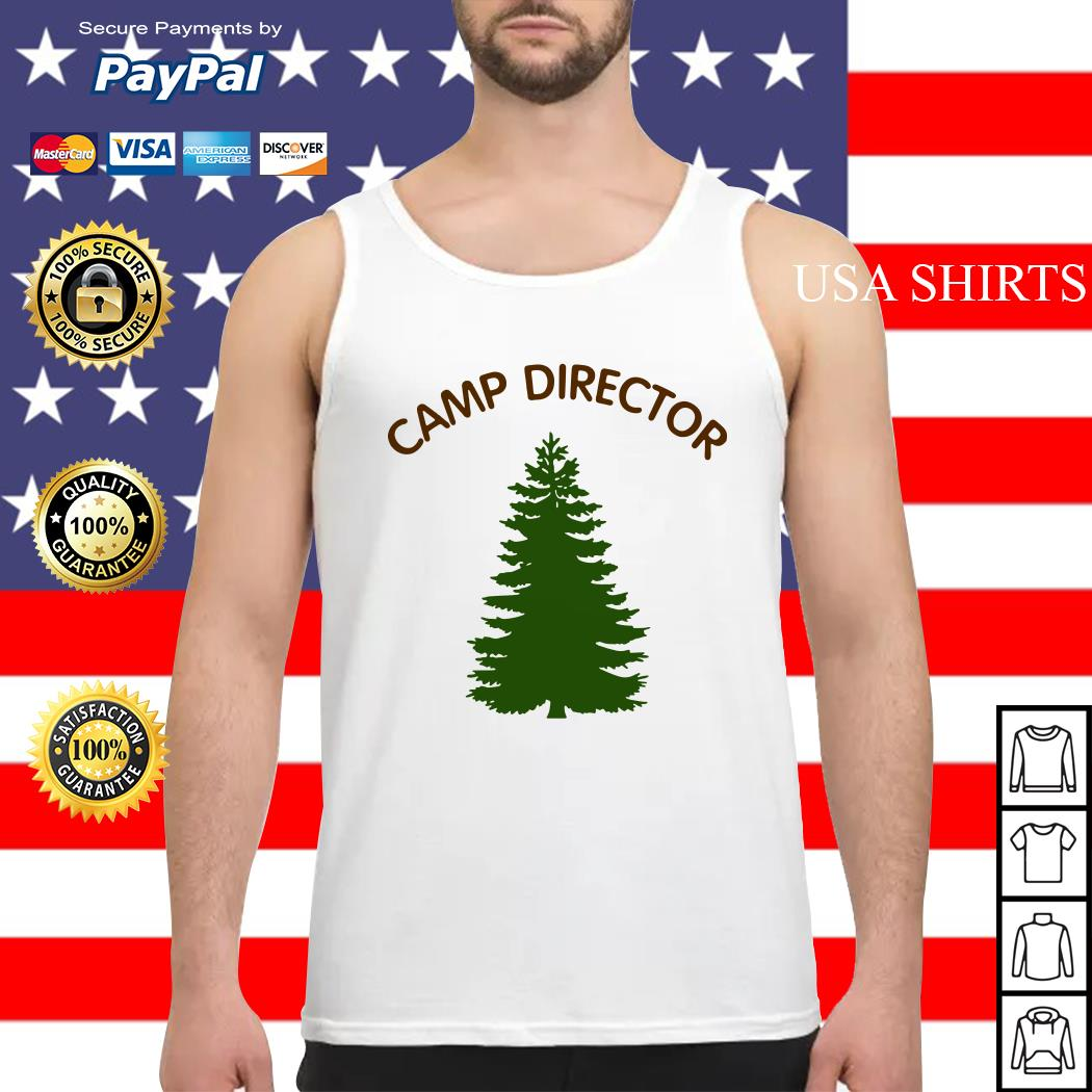 Camp director tree Tank top