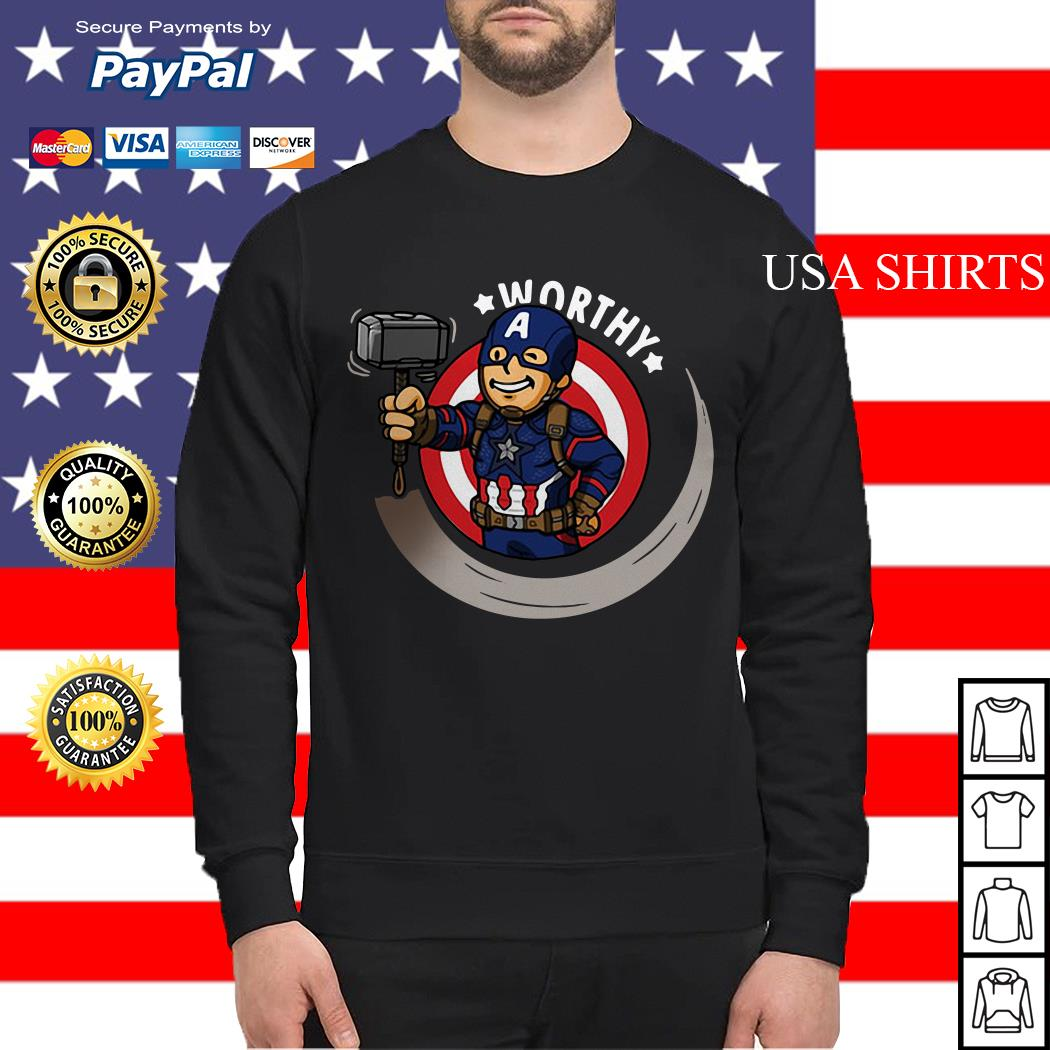 Captain America worthy Sweater