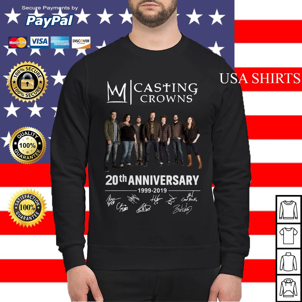 Casting Crowns 20th Anniversary 1999 2019 Sweater