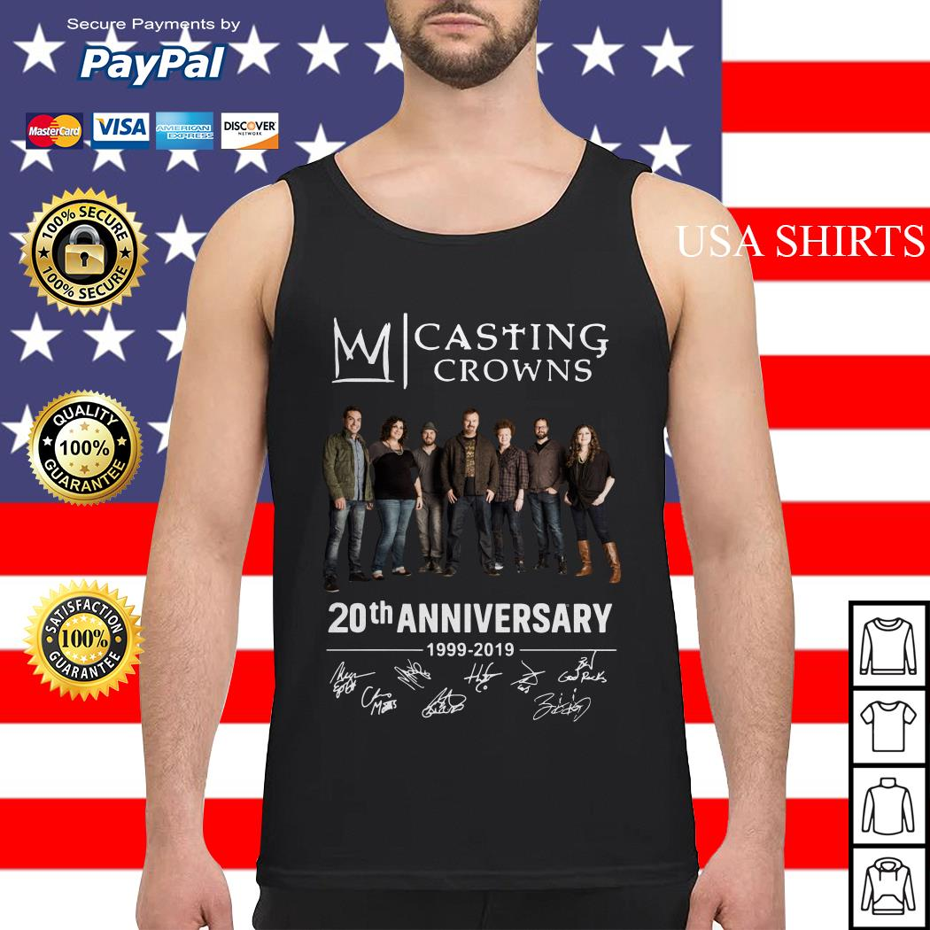 Casting Crowns 20th Anniversary 1999 2019 Tank top