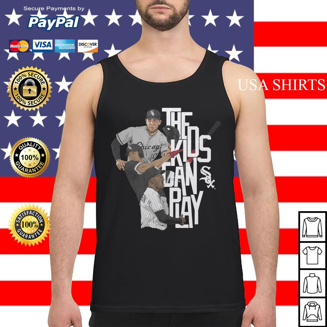 Chicago the kids can sox play Tank top