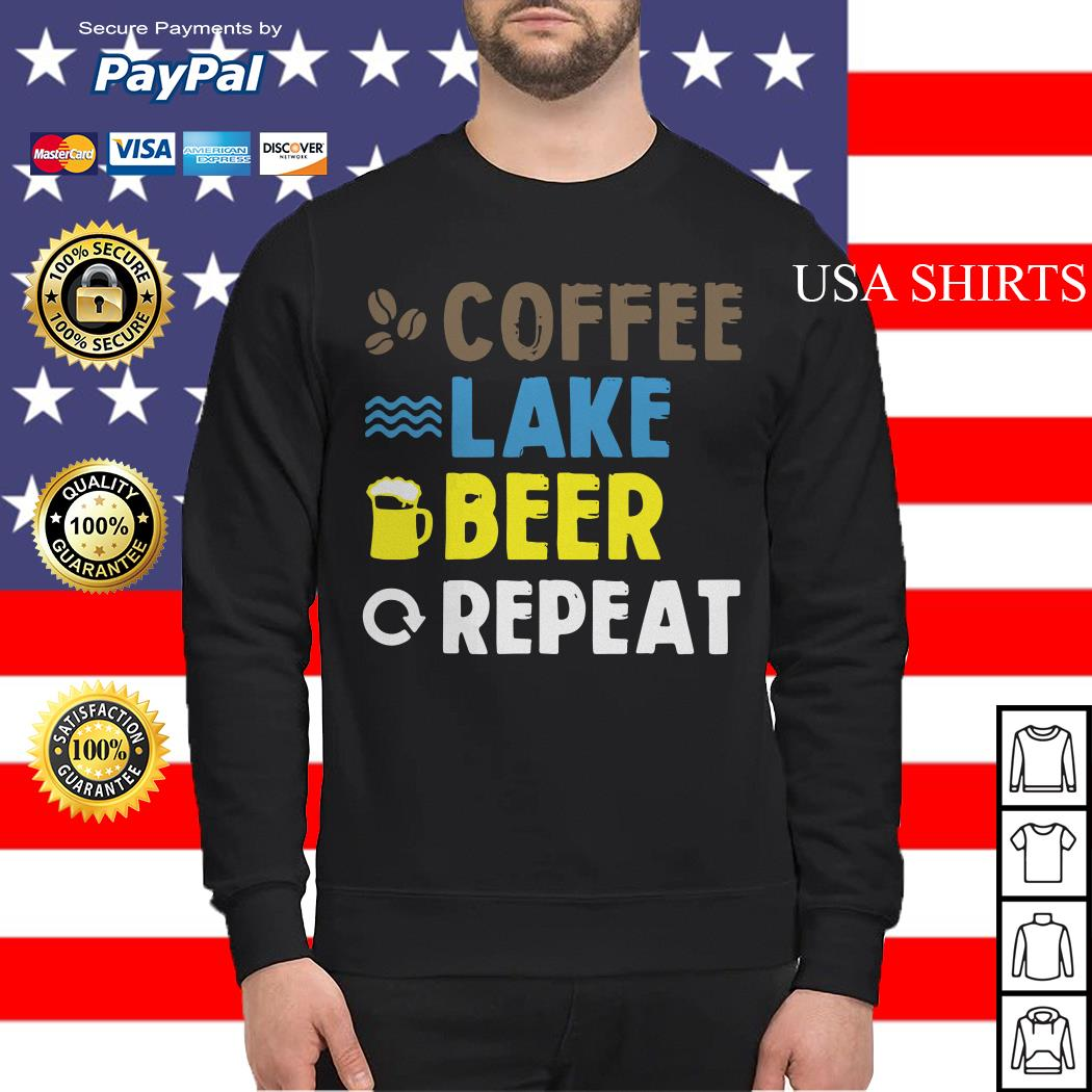 Coffee lake beer repeat Sweater