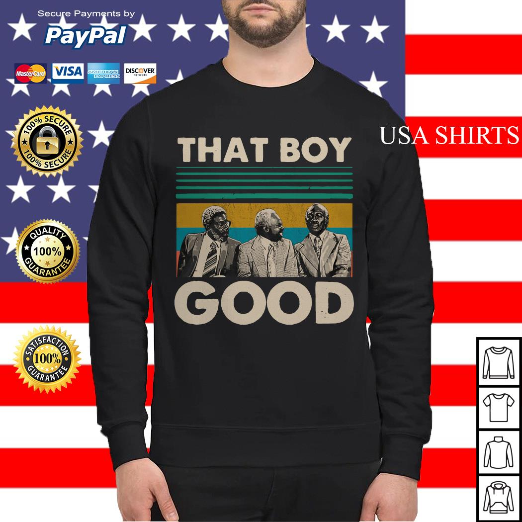 Coming To America That Boy Good vintage Sweater