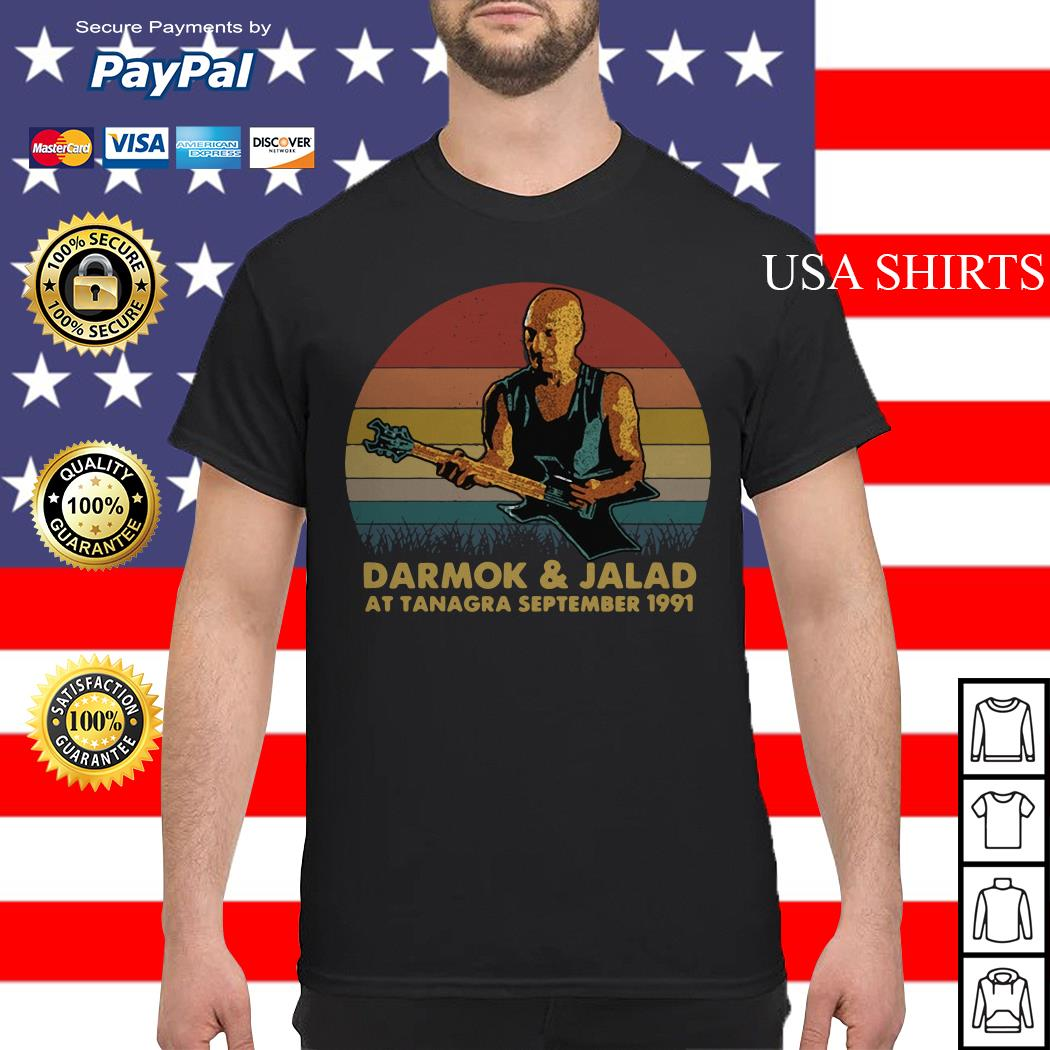 Darmok and jalad at tanagra september 1991 vintage shirt