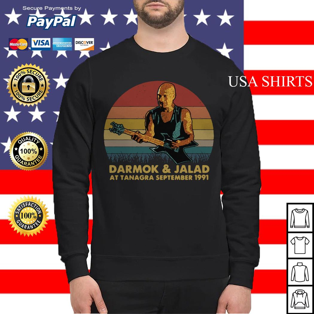 Darmok and jalad at tanagra september 1991 vintage Sweater