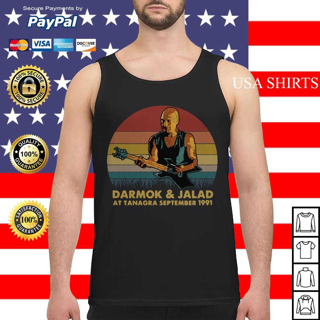 Darmok and jalad at tanagra september 1991 vintage Tank top