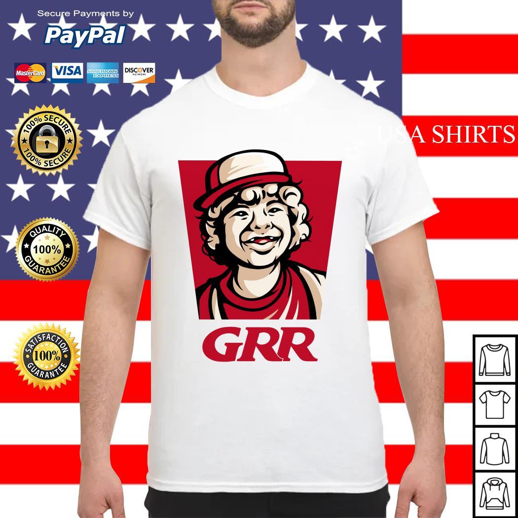 Dustin GRR Stranger Things shirt
