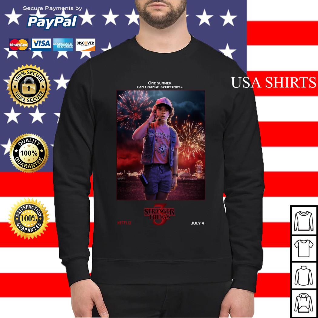 Dustin Henderson One Summer Can Change Everything Stranger Things Sweater