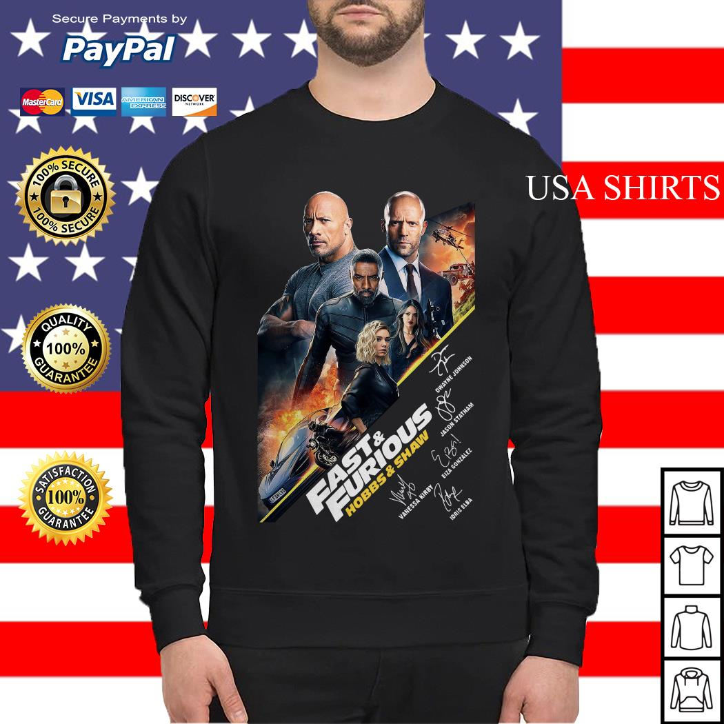 Fast and Furious Hobbs and shaw signature Sweater