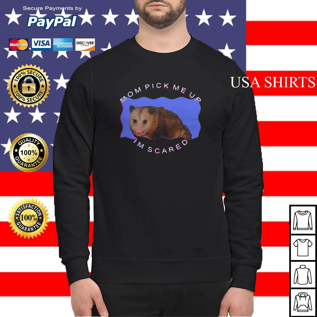 Ferret Mom pick me up I'm scared Sweater