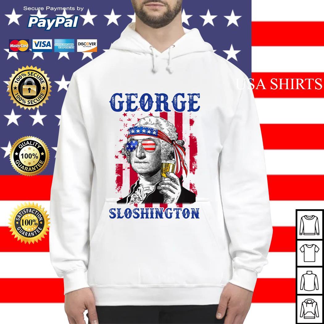 George Sloshington 4th of July Hoodie