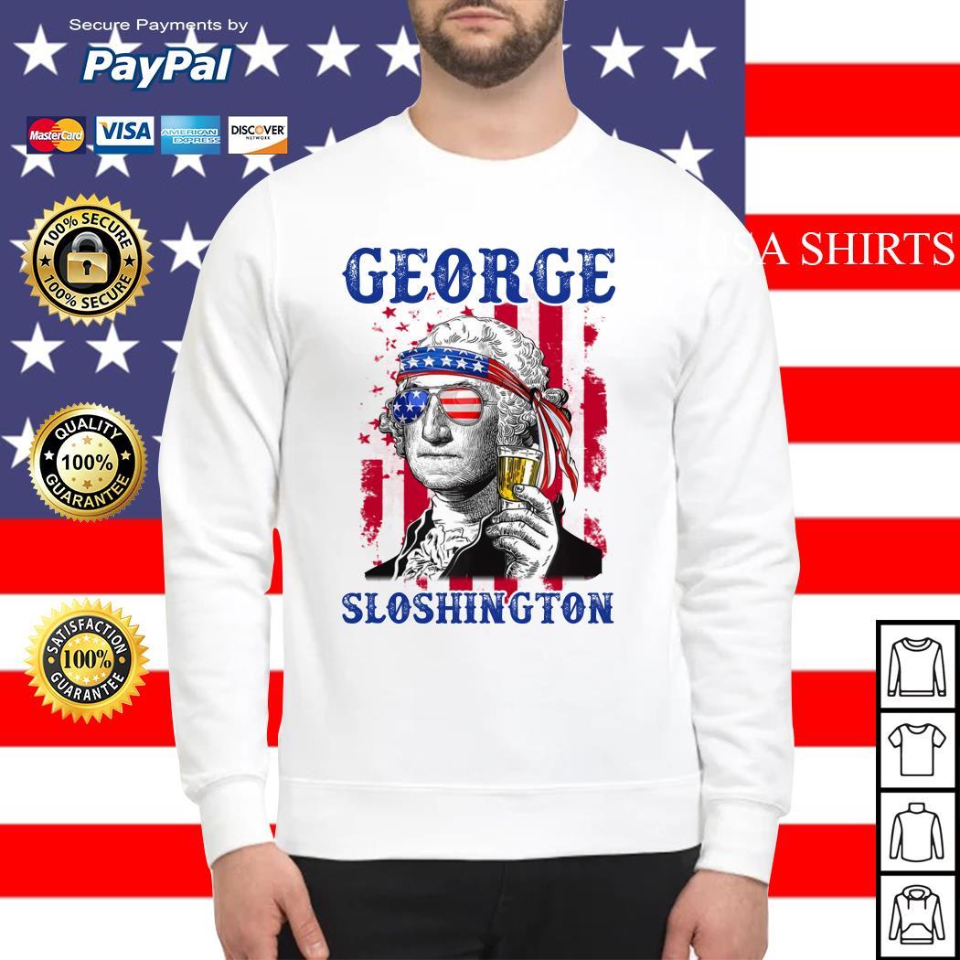 George Sloshington 4th of July Sweater