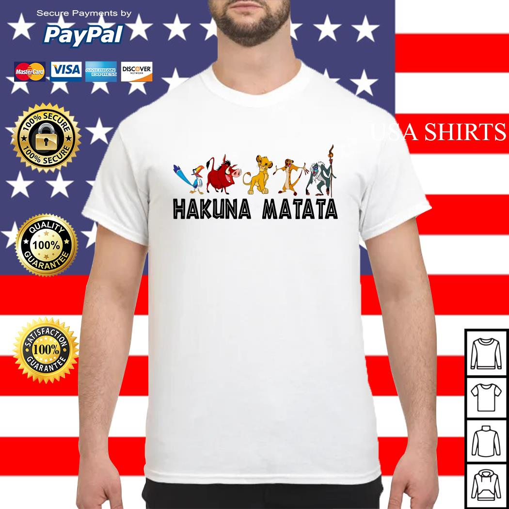 Hakuna Matata Lion King shirt