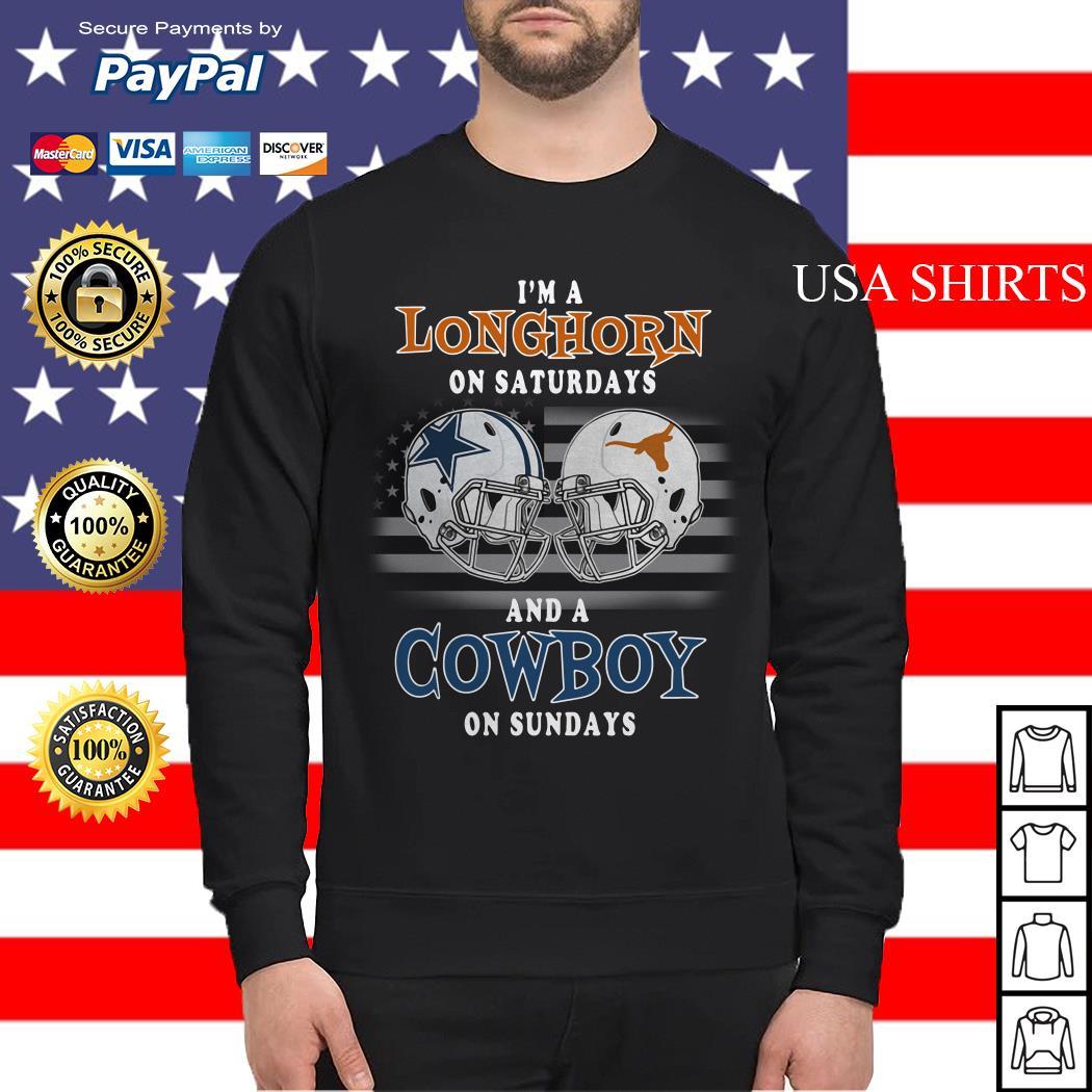 I'm a Longhorn on Saturdays and a Cowboy on Sundays Sweater