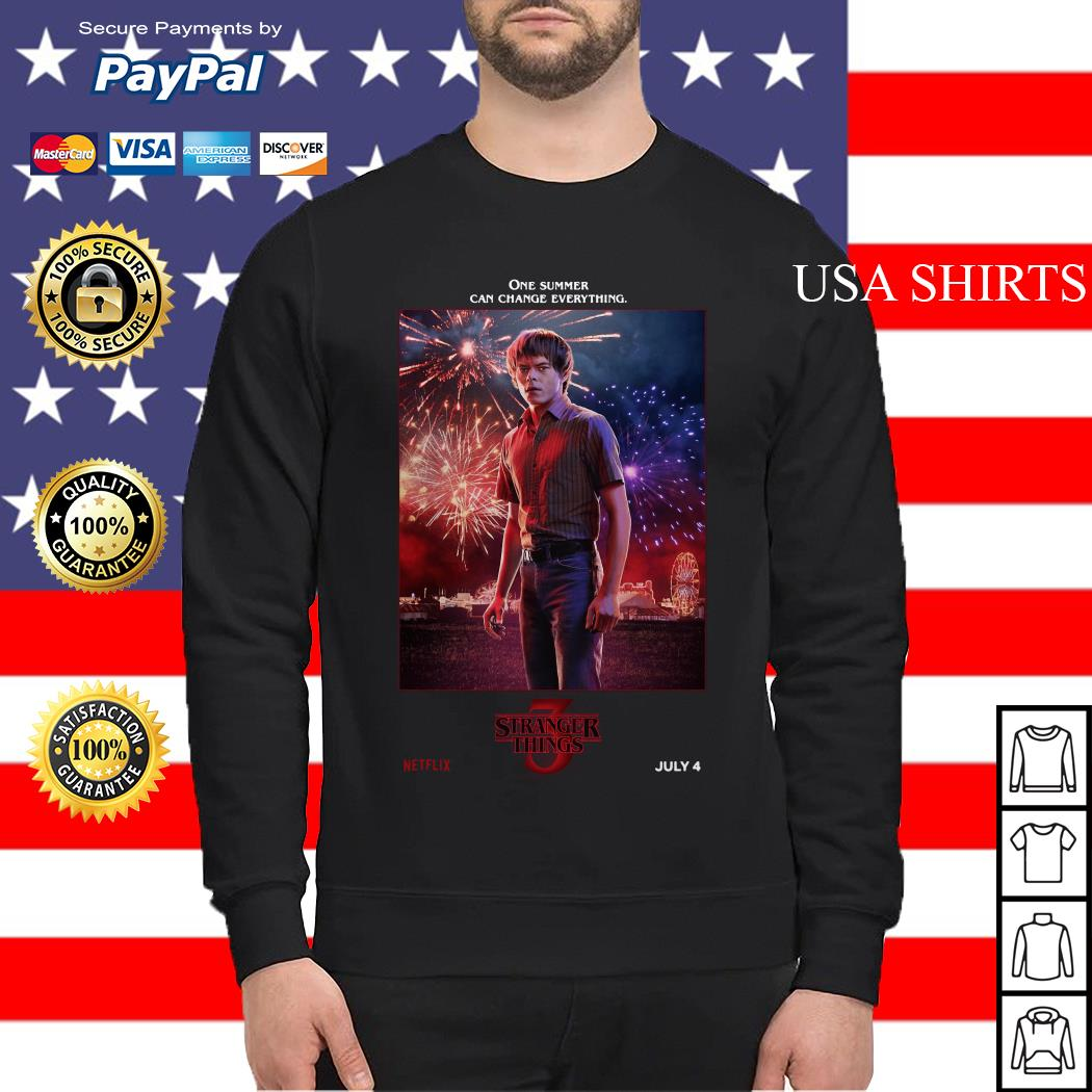Jonathan Byers One Summer Can Change Everything Stranger Things Sweater