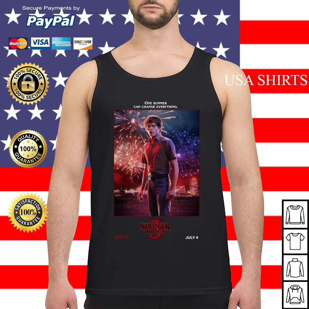 Jonathan Byers One Summer Can Change Everything Stranger Things Tank top