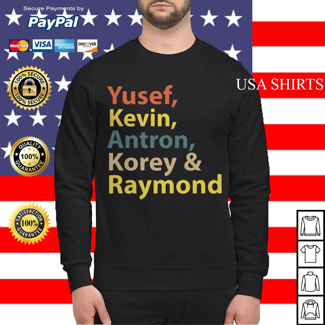 Yusef Kevin Antron Korey Raymond Sweater