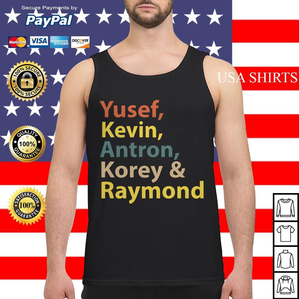 Yusef Kevin Antron Korey Raymond Tank top