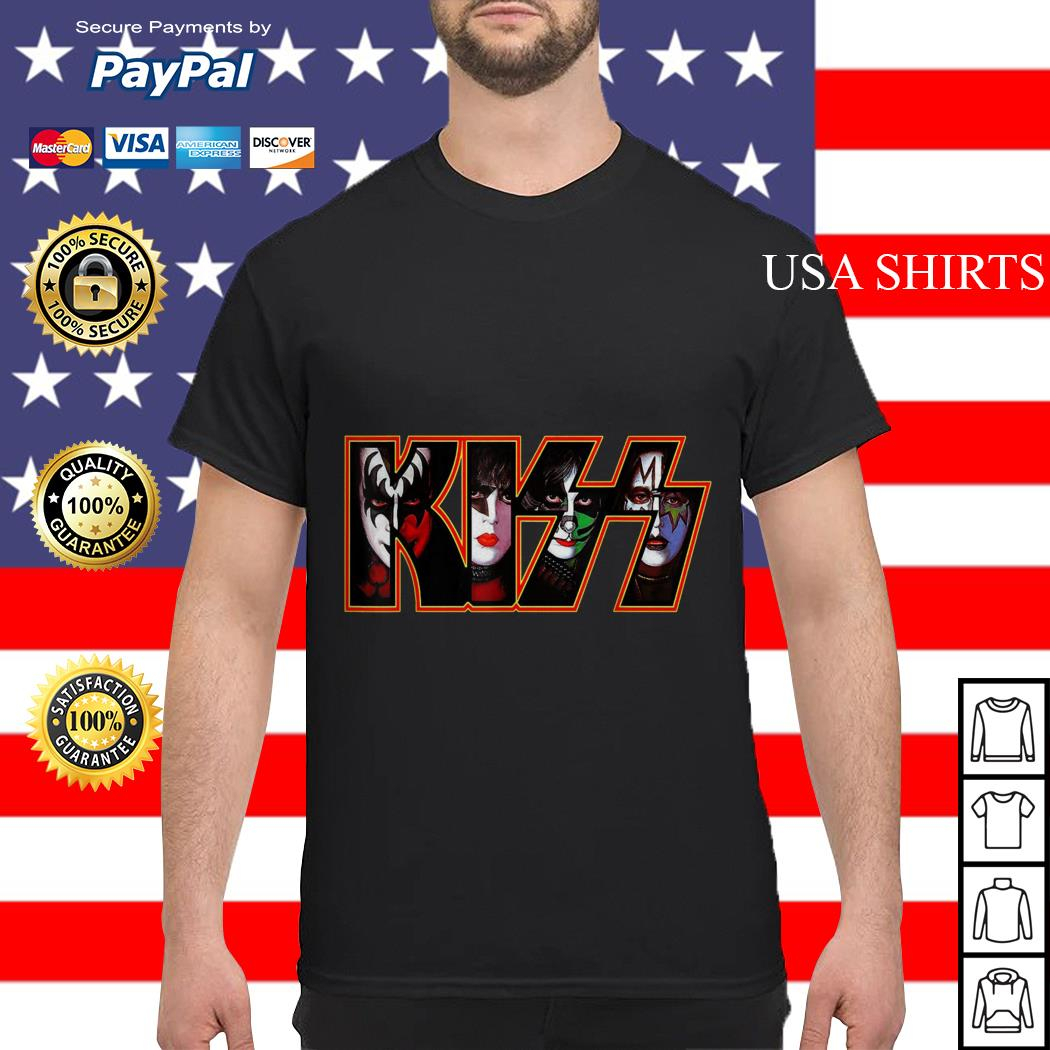 Kiss band end of the road america world tour 2019 shirt