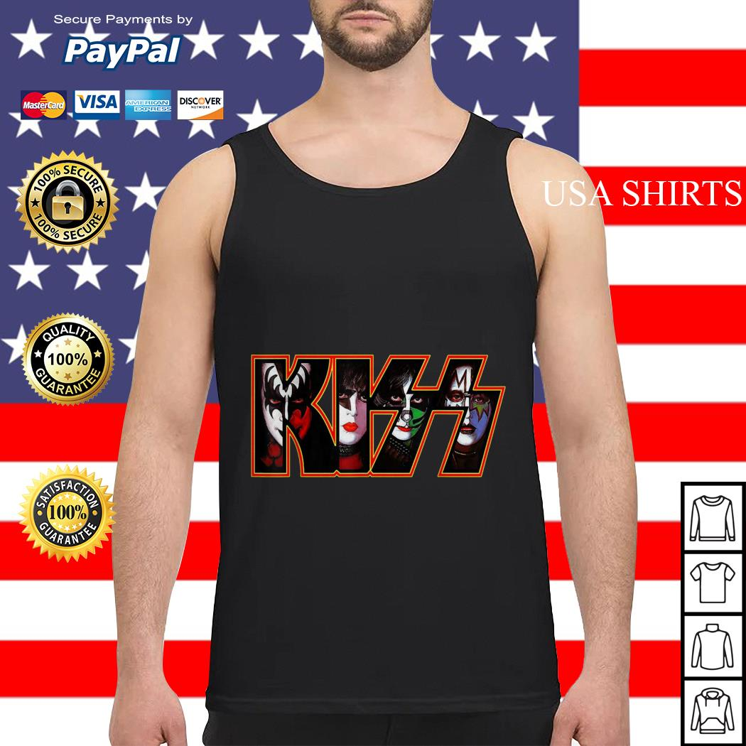 Kiss band end of the road america world tour 2019 Tank top