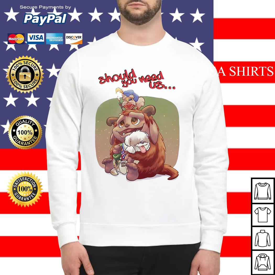 Labyrinth Should you need us Sweater