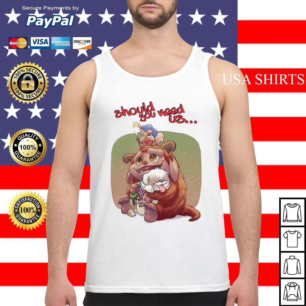 Labyrinth Should you need us Tank top