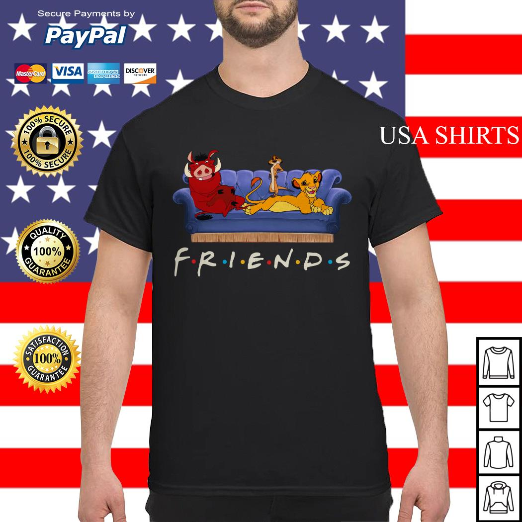 The Lion King watch Friends TV show shirt