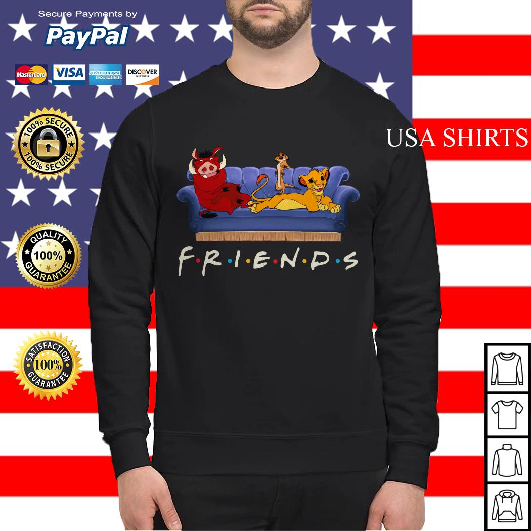 The Lion King watch Friends TV show Sweater