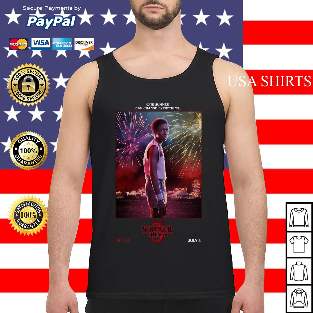 Lucas Sinclair One Summer Can Change Everything Stranger Things Tank top