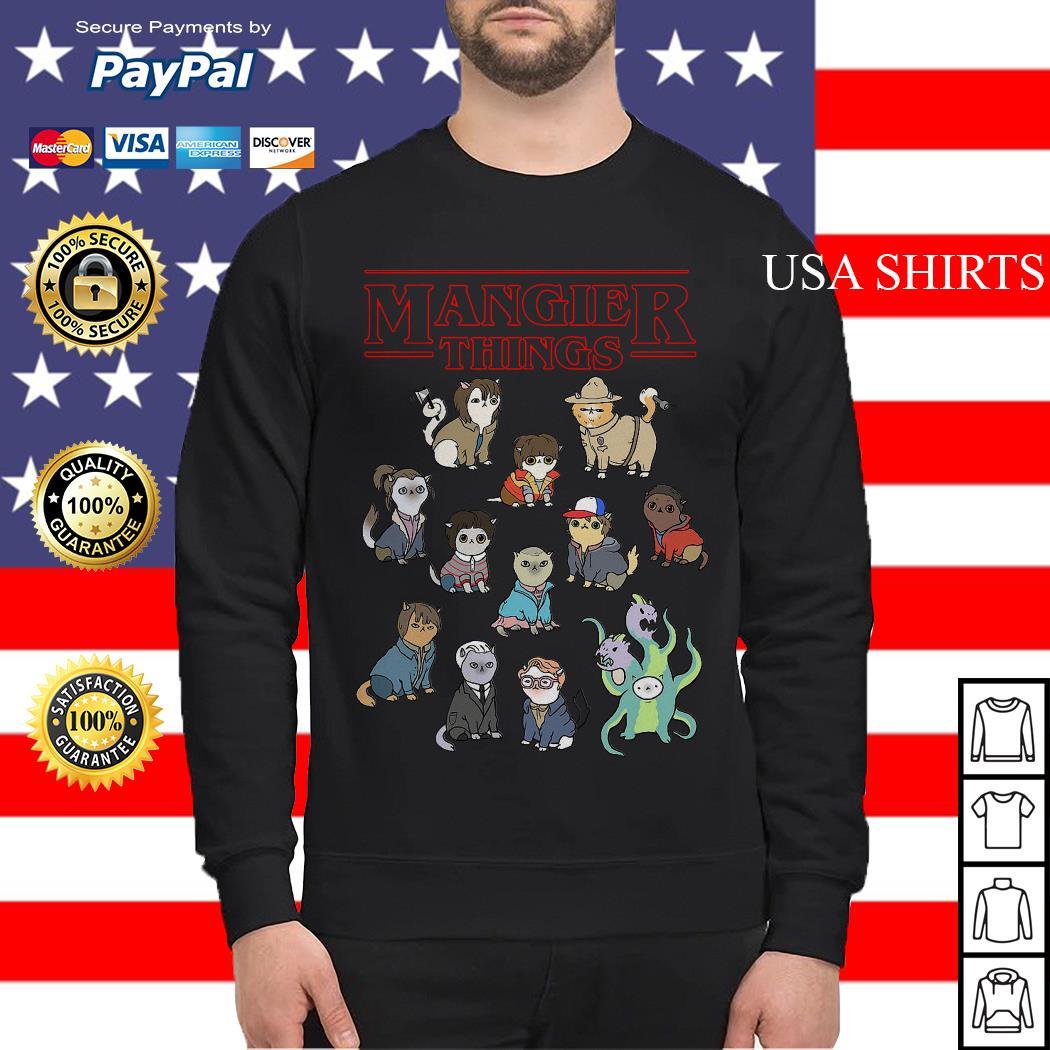 Mangier Things Stranger Things Sweater