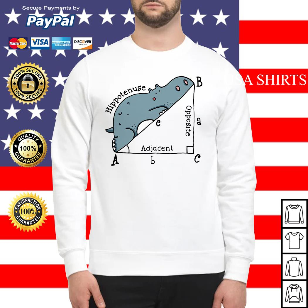 Math Humor Hippotenuse Adiacent Opposite Sweater