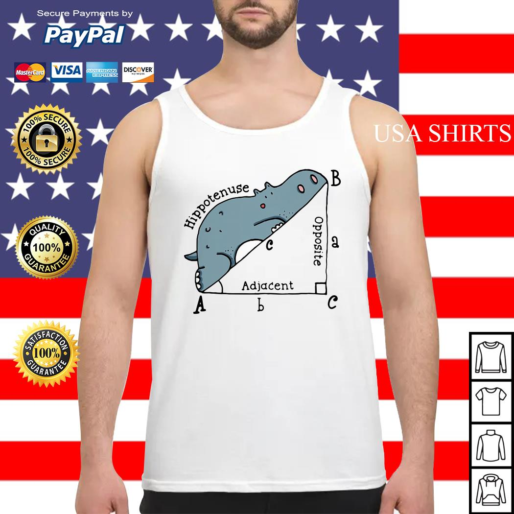 Math Humor Hippotenuse Adiacent Opposite Tank top