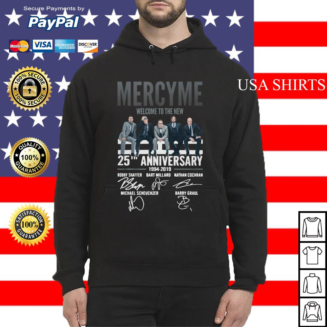 Mercyme Welcome To The New 25th Anniversary Hoodie