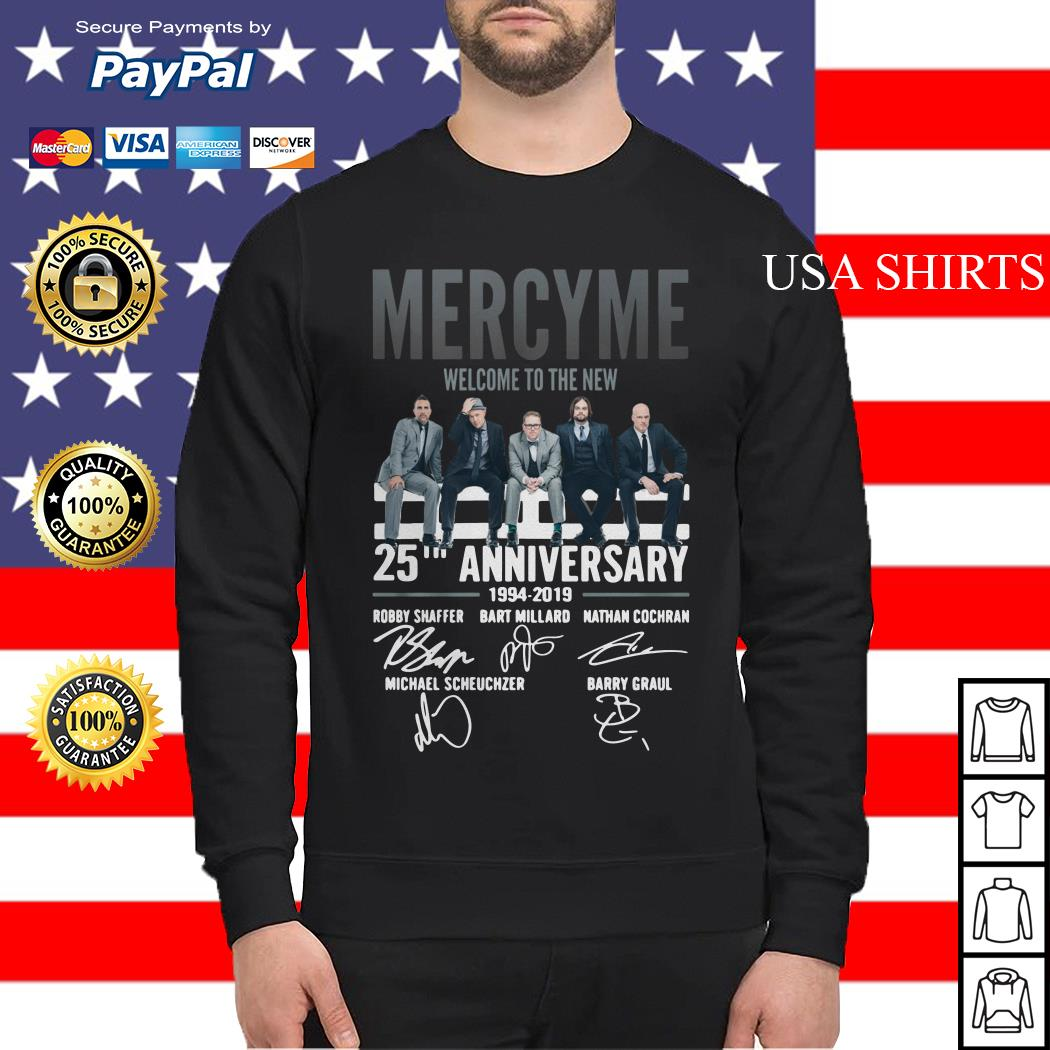 Mercyme Welcome To The New 25th Anniversary Sweater