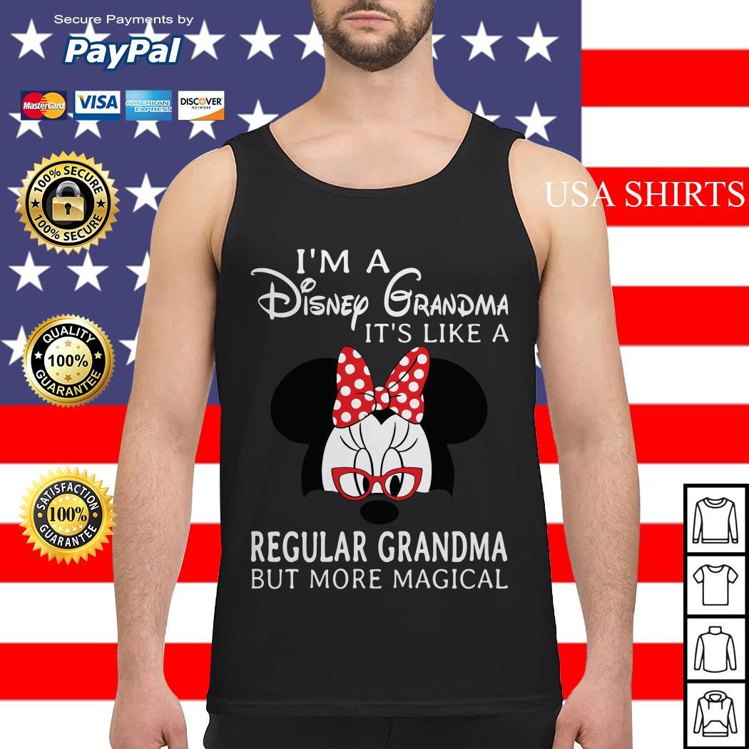 Minnie mouse I'm a Disney Grandma It's like a regular Grandma Tank top