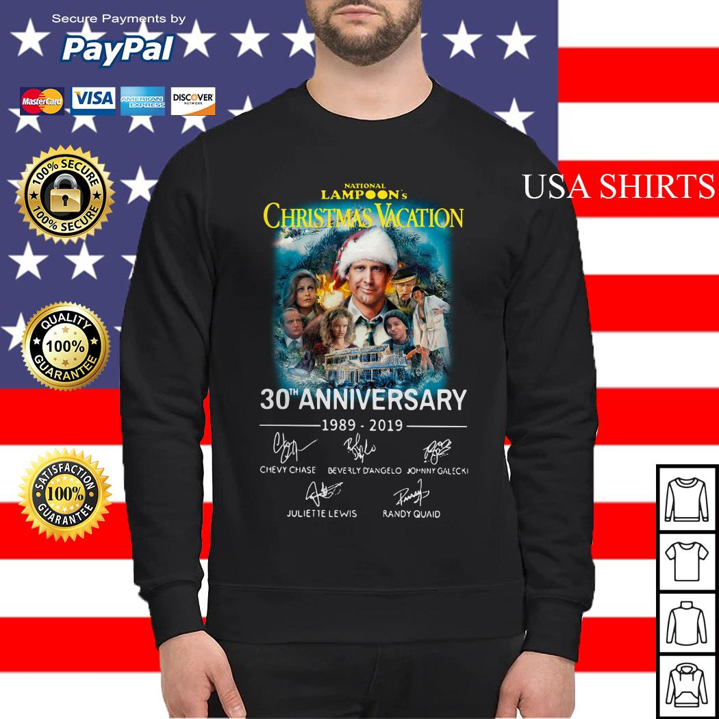 National Lampoon's Christmas Vacation 30th Anniversary 1989-2019 Sweater