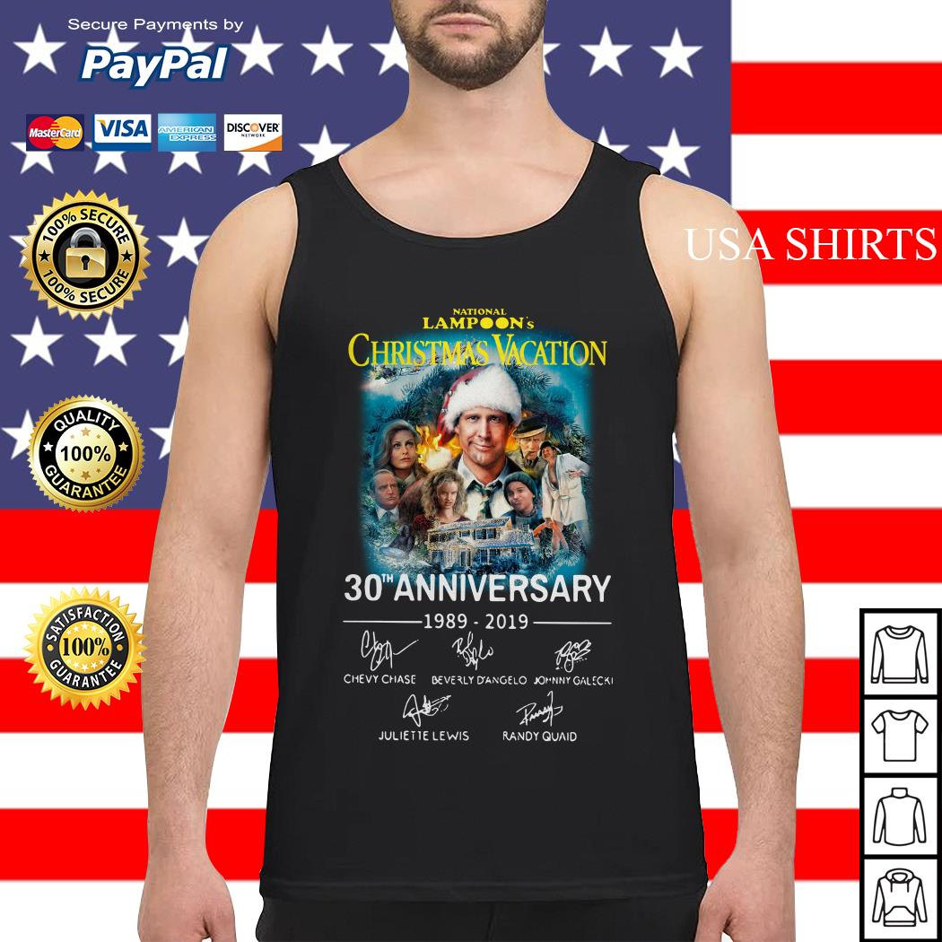 National Lampoon's Christmas Vacation 30th Anniversary 1989-2019 Tank top