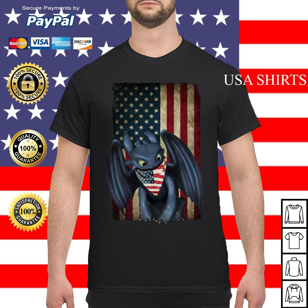 Night Fury American flag Independence day shirt