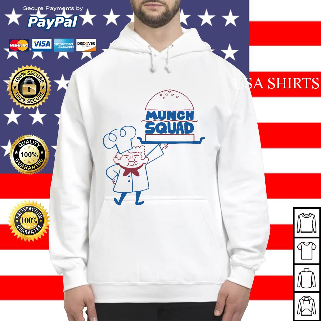 Official Munch Squad Hoodie