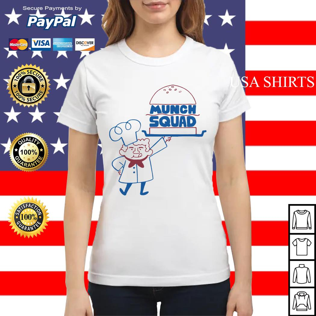Official Munch Squad Ladies tee