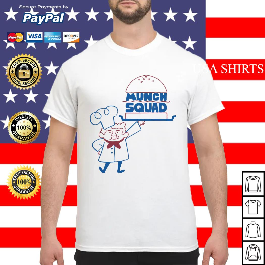 Official Munch Squad shirt