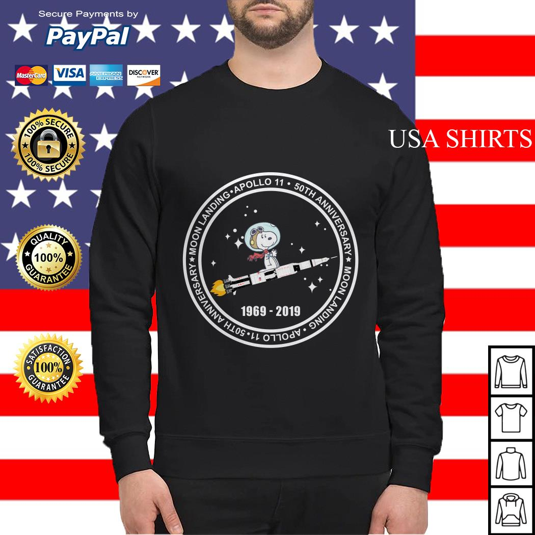 Official Snoopy moon landing apollo 11 50th anniversary Sweater
