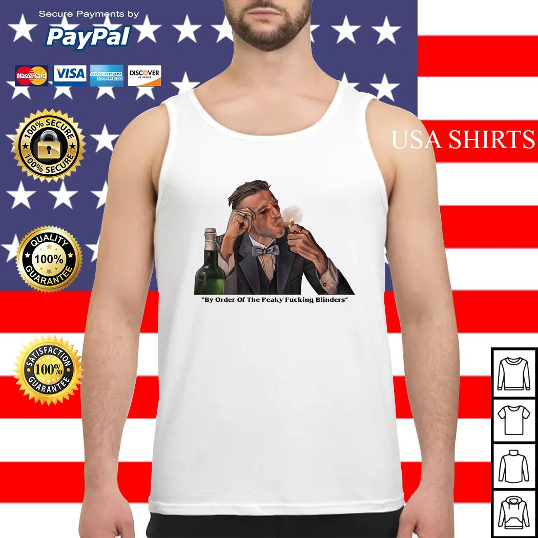 By order of the Peaky Blinders Arthur Shelby Tank top
