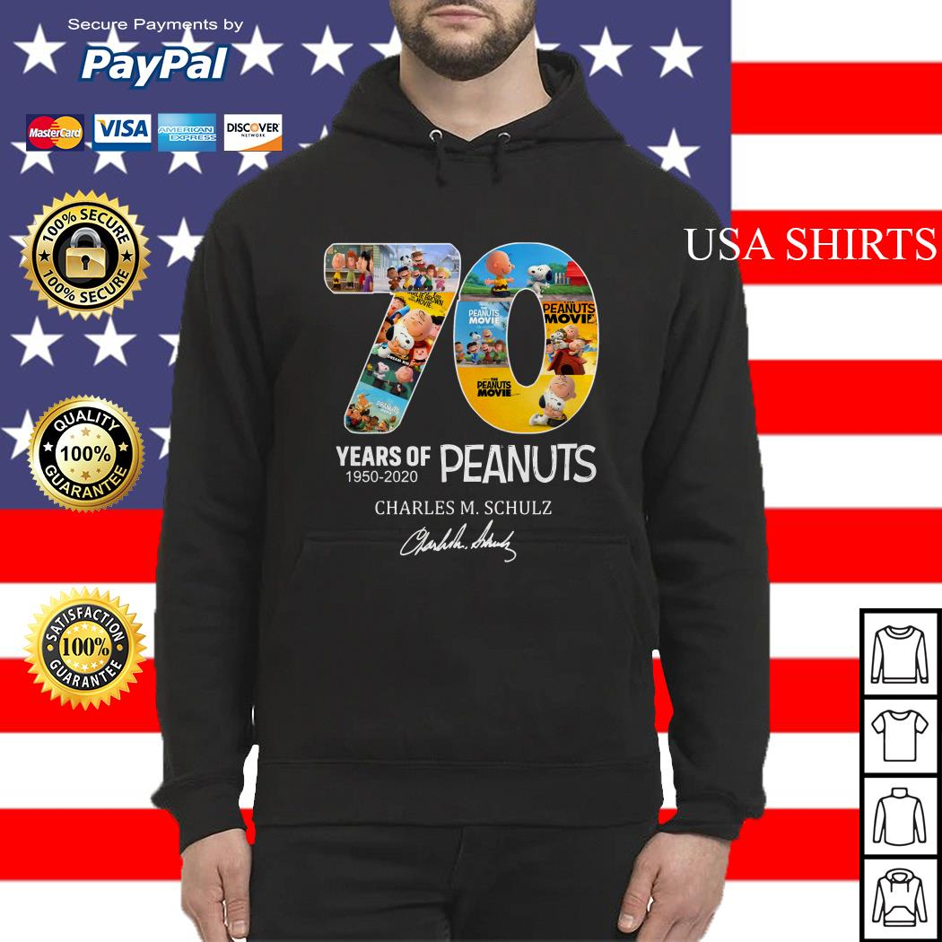 Peanuts Snoopy 70th Anniversary Hoodie