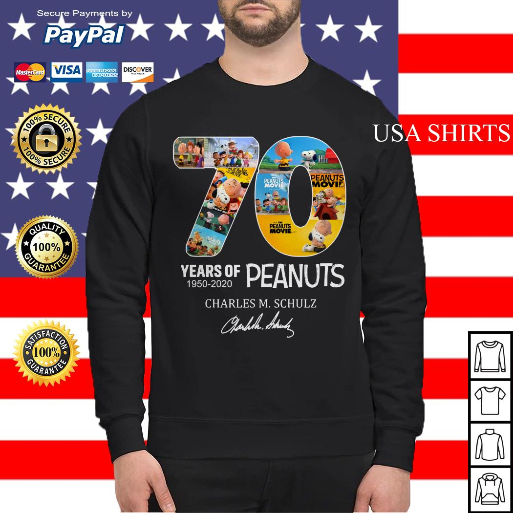 Peanuts Snoopy 70th Anniversary Sweater