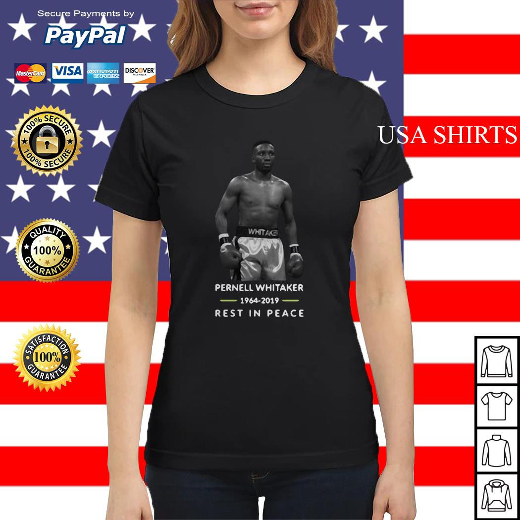 Pernell whitaker 1964-2019 rest in peace Ladies tee
