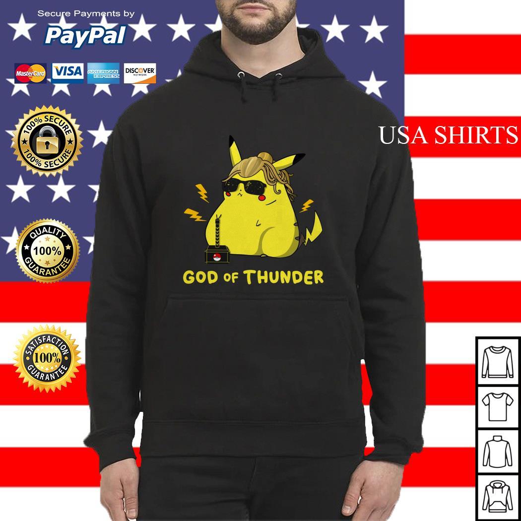 Pikachu God of thunder Hoodie
