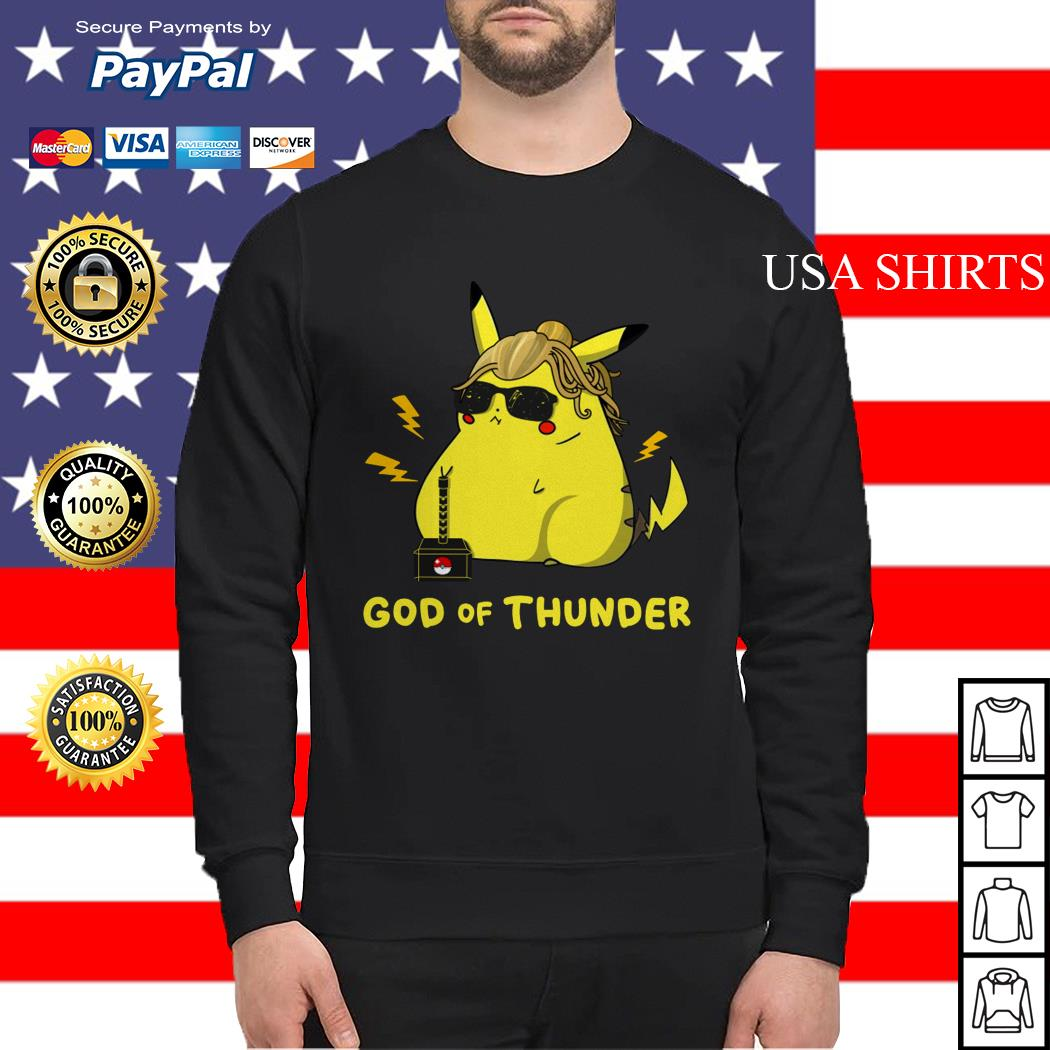 Pikachu God of thunder Sweater