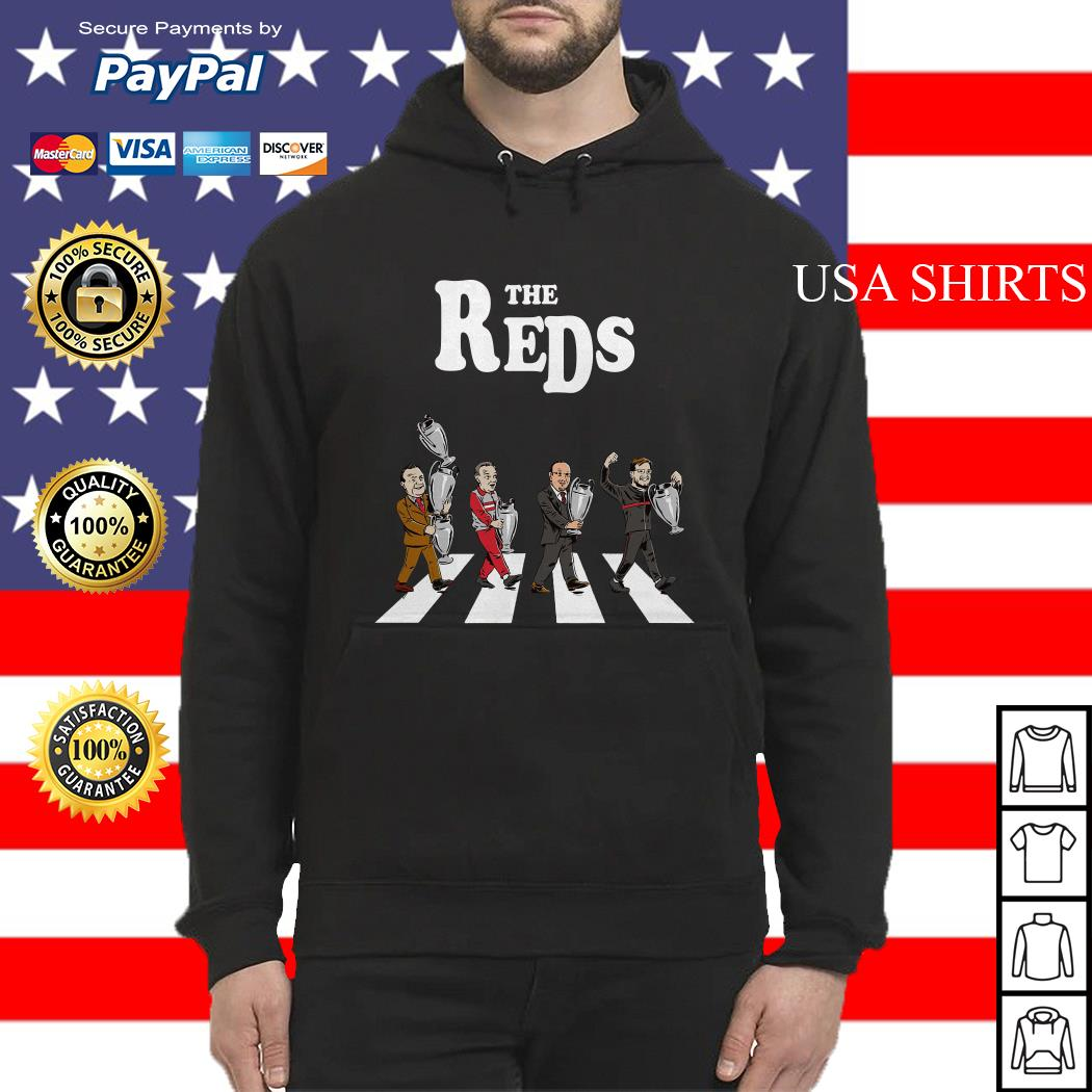 The Reds the coach Liverpool Abbey Road Hoodie